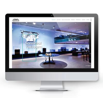 Adalıcam kurumsal web sitesi