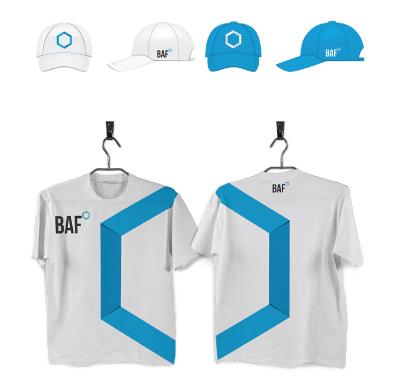 BAF İnşaat kurumsal kimlik tasarımı