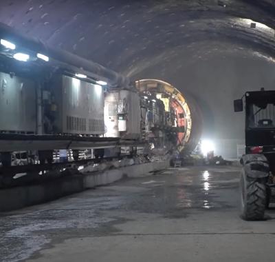 Halkalı - İstanbul Yeni Havalimanı Metro Projesi  - S3 Makas Yapısı TBM Geçişi Videosu