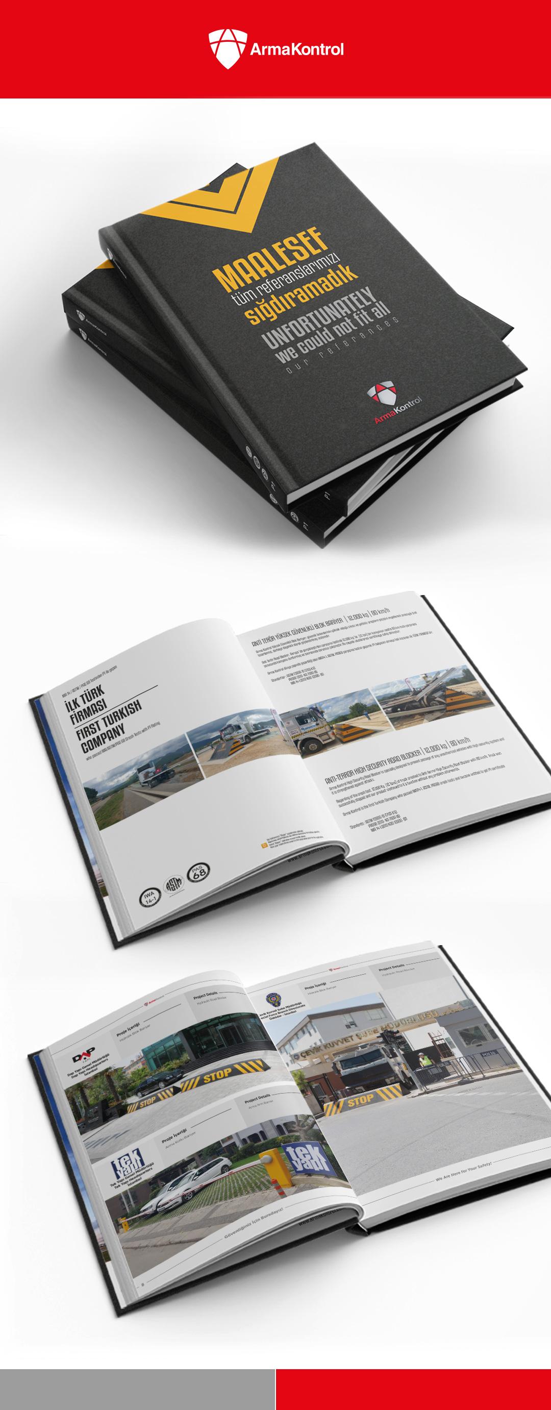 Arma Kontrol Referans kataloğu tasarımı