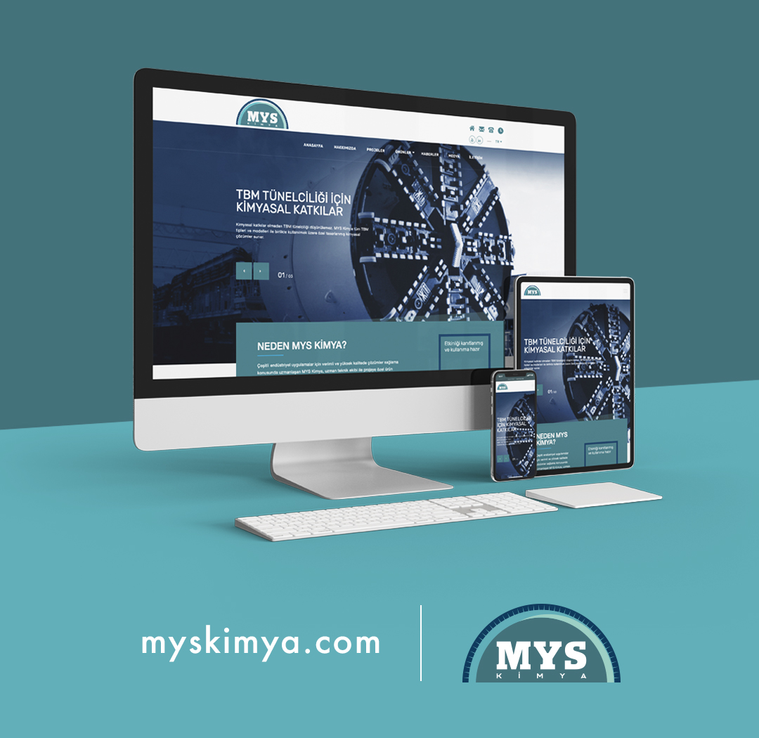 MYS Kimya kurumsal web sitesi - www.myskimya.com